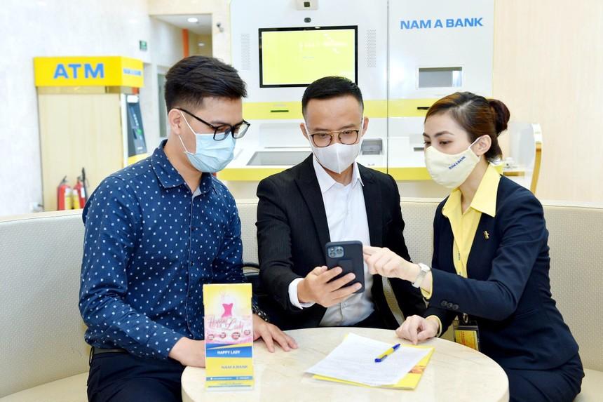 Nam A Bank chuyển khoản nhanh Napas 247 mã QR