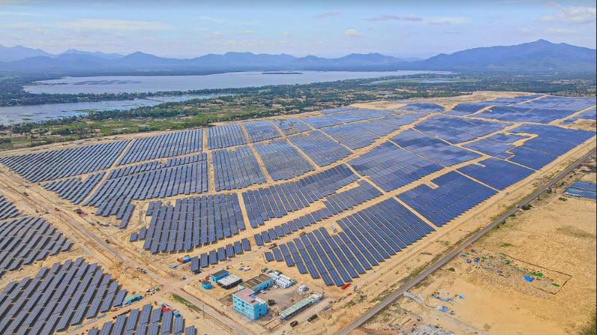BCG khánh thành Nhà máy năng lượng mặt trời Phù Mỹ