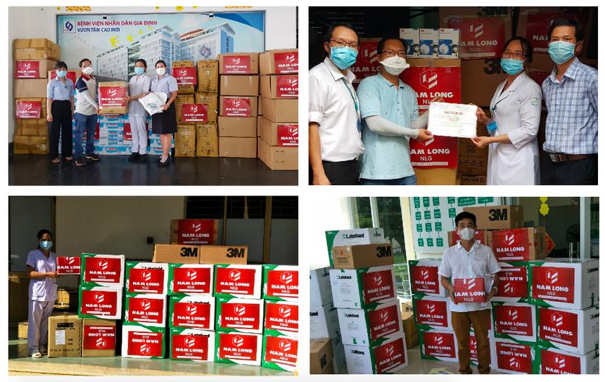 Tập đoàn Nam Long (mã NLG) ủng hộ 12 tỷ đồng chống dịch covid