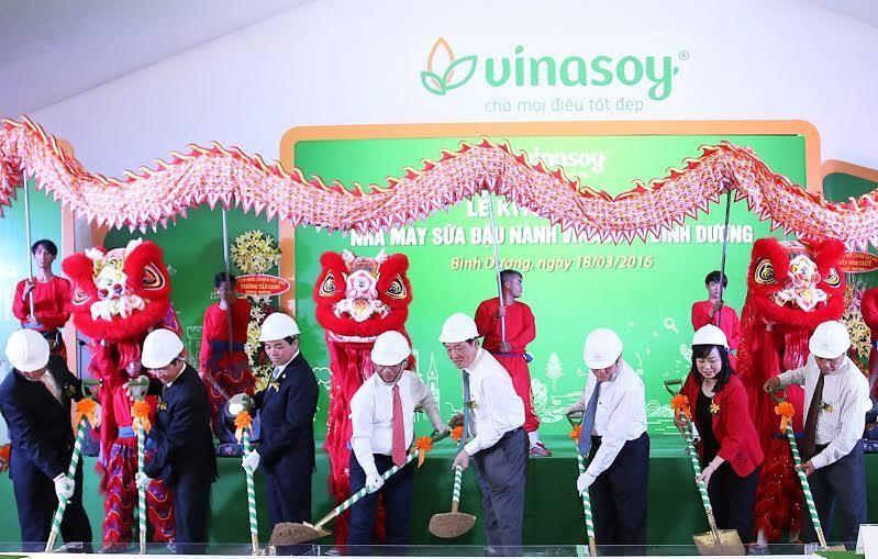 Vinasoy đầu tư 900 tỷ đồng xây nhà máy tại Bình Dương