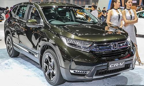 Honda CR-V bản 7 chỗ, tham vọng lấy khách của Santa Fe