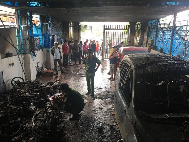 Cháy khách sạn ở Bình Thuận, nhiều người liều mạng nhảy xuống từ tầng 4