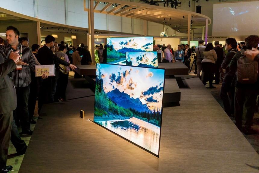 5 TV cao cấp giá trăm triệu đồng mới trình làng