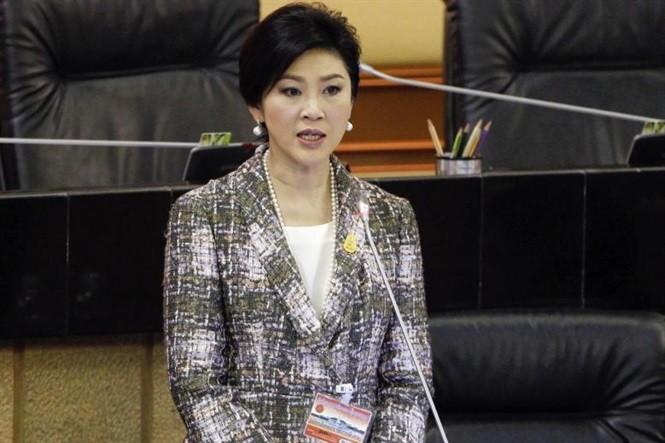 Cựu Thủ tướng Yingluck Shinawatra. Ảnh: Internet