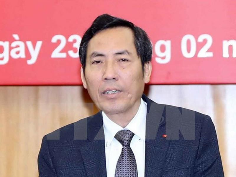 Tổng biên tập báo Nhân Dân kiêm nhiệm Phó trưởng Ban Tuyên giáo TƯ. Ảnh: TTXVN