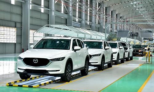 Cuộc chiến thị phần ôtô Việt Nam thời vắng xe nhập khẩu