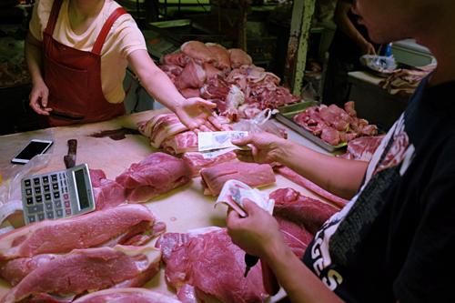 Trung Quốc xả kho 10.000 tấn thịt heo