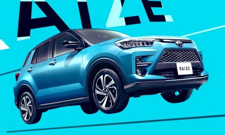 Lộ diện hình ảnh Toyota Raize, tiểu RAV4.