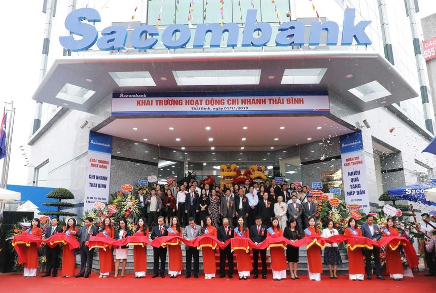 Sacombank khai trương chi nhánh Thái Bình