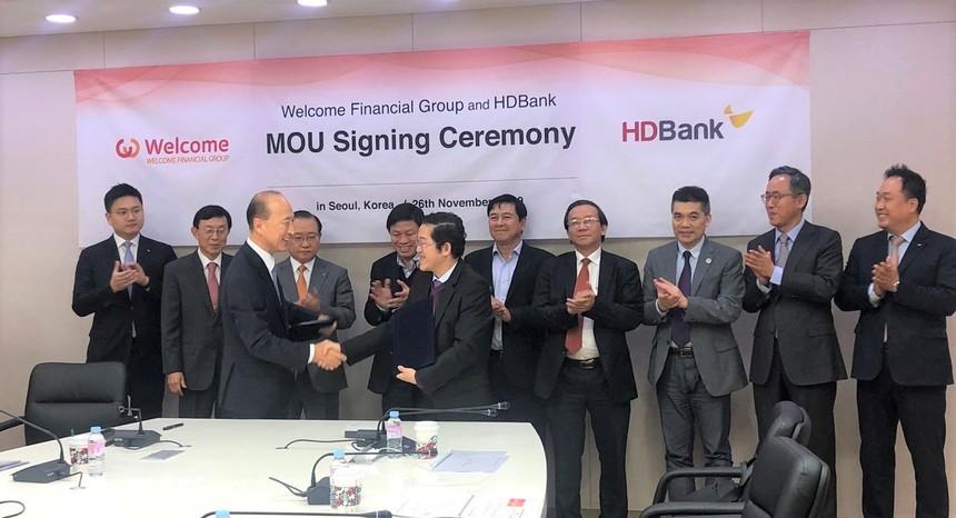 HDBank và WFG ký kết hợp tác, triển khai Korea Desk cho khách hàng Hàn Quốc