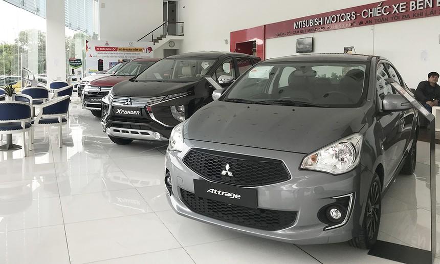 Một showroom trưng bày xe Mitsubishi tại TP HCM. Ảnh: Thành Nhạn.