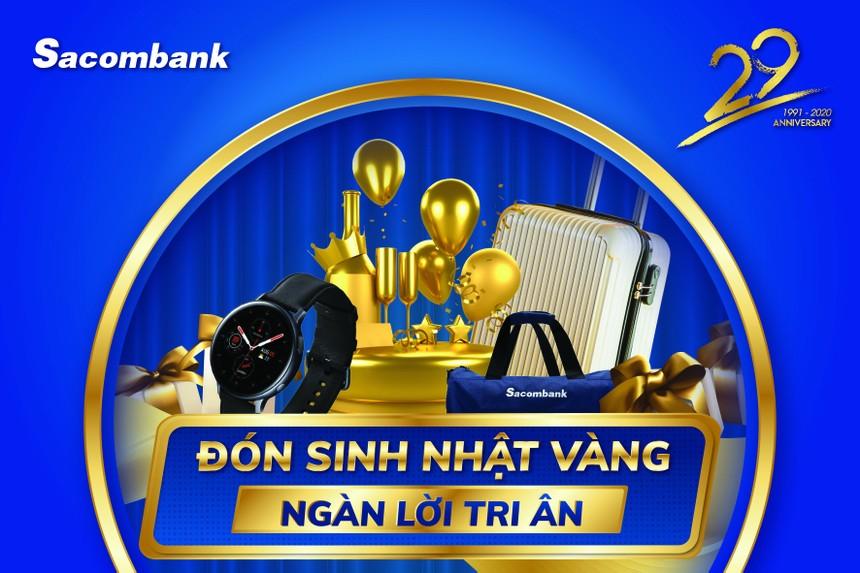 Cơ hội nhận thưởng xe Vinfast, iphone 12 từ Sacombank