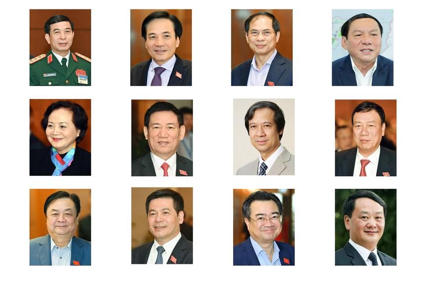Thủ tướng trình Quốc hội phê chuẩn 12 Bộ trưởng mới