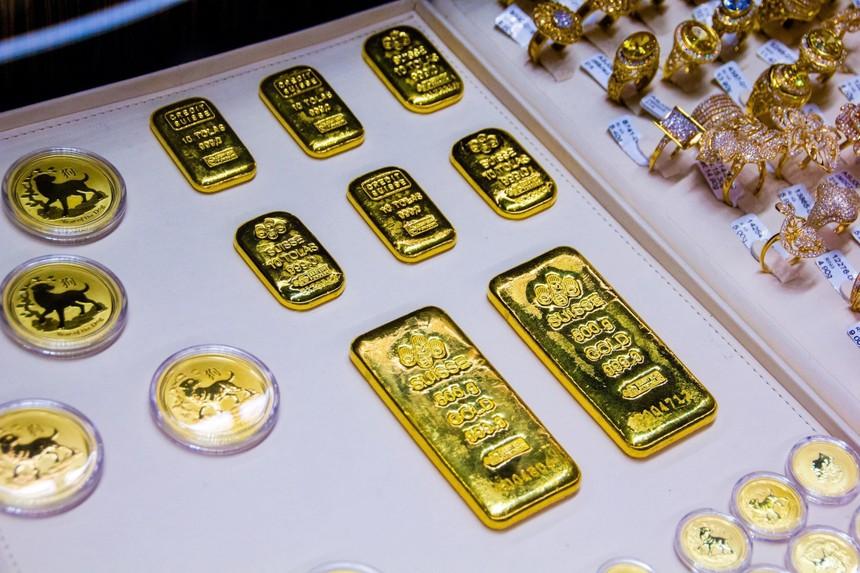 Giá vàng hôm nay ngày 1/5: Giá vàng tăng 1,2 triệu đồng/lượng trong tháng 4
