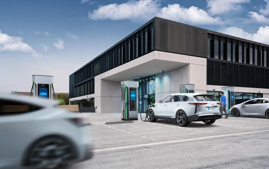Siemens ra mắt bộ sạc nhanh chuẩn DC hiệu quả nhất cho xe điện