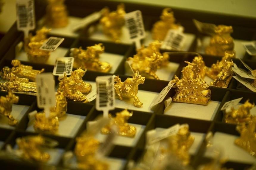 Giá vàng hôm nay ngày 27/9: Giá vàng thế giới hồi phục mạnh, giá vàng trong nước im ắng