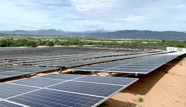 Giai đoạn 1dự án Nhà máy điện mặt trời Chư Ngọc-EVNLICOGI 16.