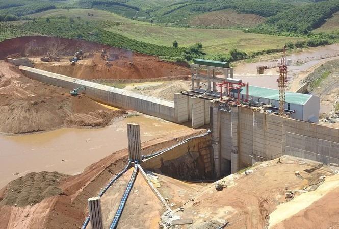 Thủy điện Plei Kần, Kon Tum từng bị xử phạt vì tự ý tích nước khi chưa được cho phép của cơ quan chức năng. Ảnh: Duy Dũng.