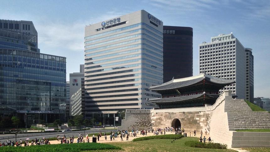 Tập đoàn tài chính Shinhan (Ảnh Internet)