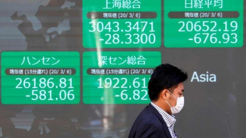Chứng khoán châu Á chìm trong sắc đỏ khi lợi suất trái phiếu tăng trở lại
