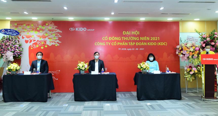 ĐHCĐ Tập đoàn KIDO (KDC): Quý III/2021 sẽ ra mắt sản phẩm Vibev, chuỗi Chuk Chuk