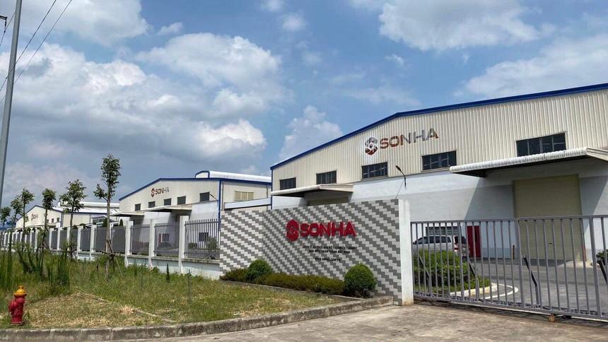 Nhà máy sản xuất lắp ráp xe máy điện của Công ty CP Năng Lượng Sơn Hà (SHE) tại Bắc Ninh.