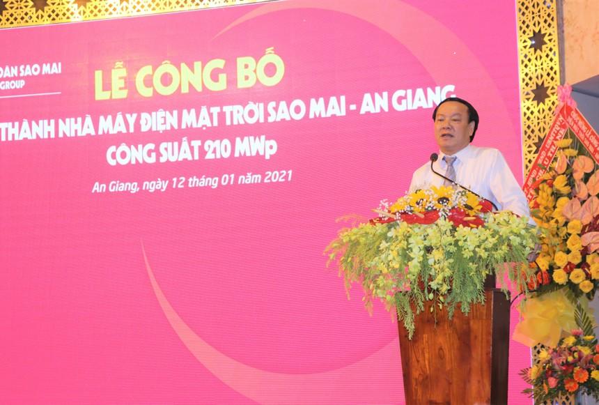 Tập đoàn Sao Mai hoàn thành nhà máy điện mặt trời Sao Mai An Giang hơn 6.000 tỷ đồng