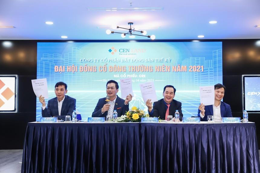 Cen Land tăng mục tiêu doanh thu 2021 lên 5.000 tỷ đồng nhờ quý 1 khởi sắc