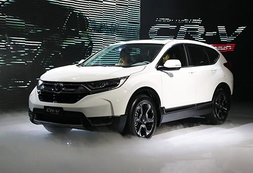 Honda CR-V bản 7 chỗ có giá 1,1 tỷ cho bản cao nhất L
