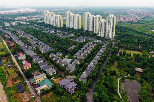 Các khu đô thị mới góp phần làm thay đổi diện mạo TP. Hà Nội