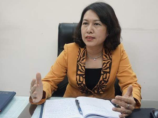 Bà Trần Thị Hồng Minh, Cục trưởng Cục Quản lý đăng ký kinh doanh