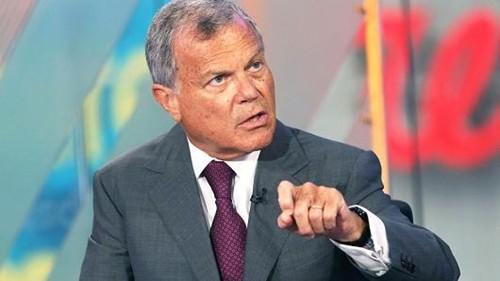 CEO hãng quảng cáo lớn nhất thế giới WPP - Martin Sorrell. Ảnh: CNBC