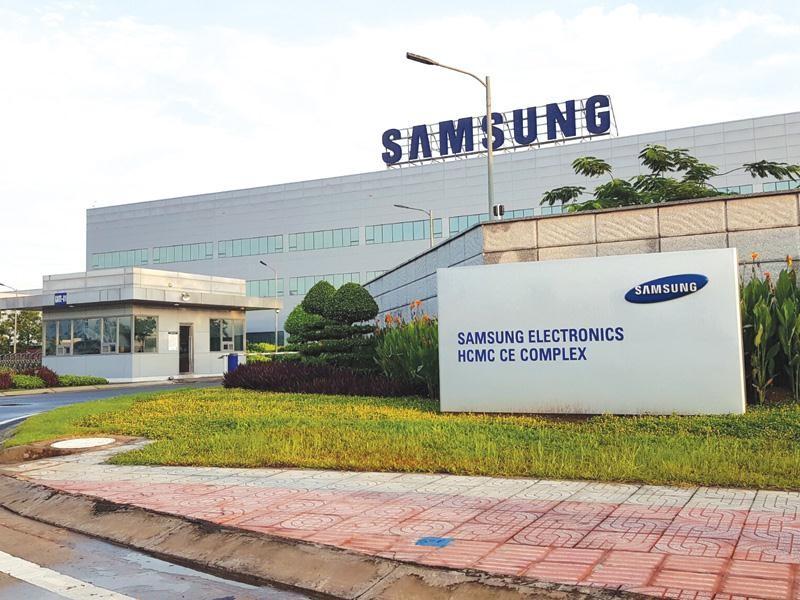 Tổ hợp SEHC của Samsung tại TP.HCM, chuyên sản xuất các sản phẩm điện tử gia dụng, trong đó có máy giặt.