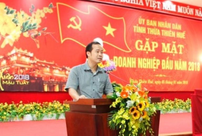 Ông Lê Anh Tuấn được bổ nhiệm giữ chức Giám đốc Sở Giao thông vận tải tỉnh Thừa Thiên - Huế. Ảnh báo Giao thông.