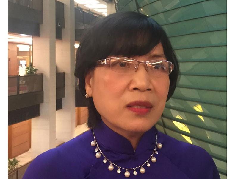 Ủy viên Ủy ban Kinh tế của Quốc hội, TS. Mai Thị Ánh Tuyết