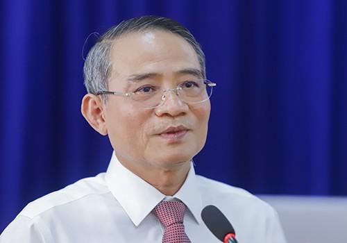 Bí thư Đà Nẵng Trương Quang Nghĩa. Ảnh: Nguyễn Đông..