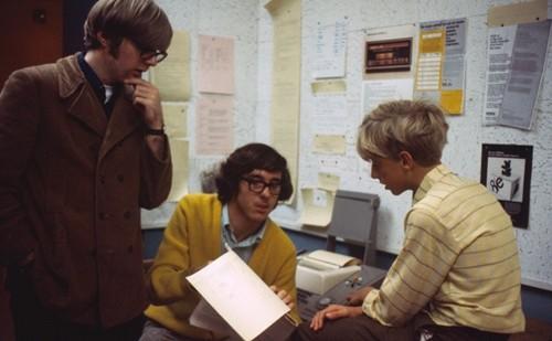 Pau Allen (trái) và Bill Gates (phải) khi còn học chung trường. Ảnh: Gates Notes.