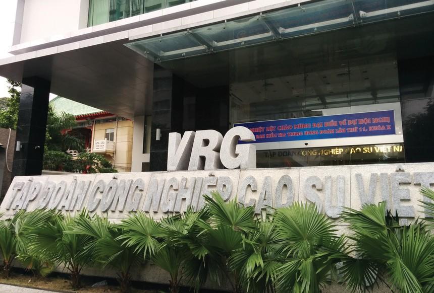 Tập đoàn Công nghiệp Cao su Việt Nam (GVR) không hoàn thành kế hoạch năm 2018