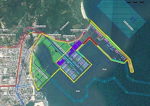 Quy hoạch Dự án Cảng Liên Chiểu chi tiết 1/500.