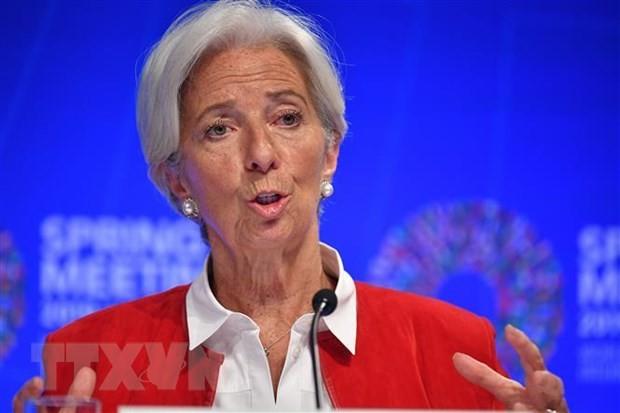 Tổng Giám đốc Quỹ Tiền tệ quốc tế (IMF) Christine Lagarde. (Nguồn: AFP/TTXVN).