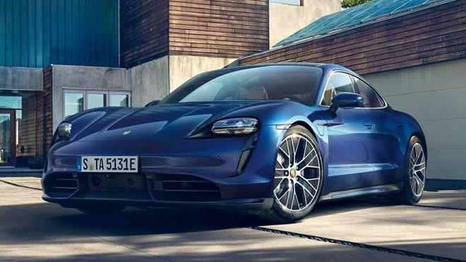Porsche Taycan có thiết kế đặc trưng như nhiều dòng xe khác của hãng này.