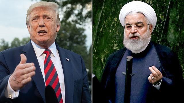 Cuộc gặp gỡ được trông đợi giữa Tổng thống Mỹ D.Trump (trái) và người đồng nhiệm Iran Hassan Rouhani sẽ không thể diễn ra trong một tương lai gần? Ảnh: Getty.