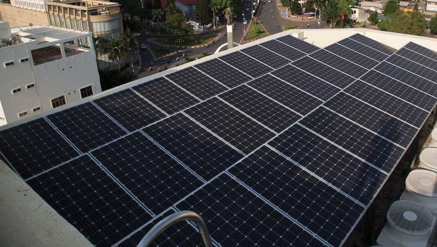 Ngân hàng ưu tiên vốn cho điện mặt trời áp mái