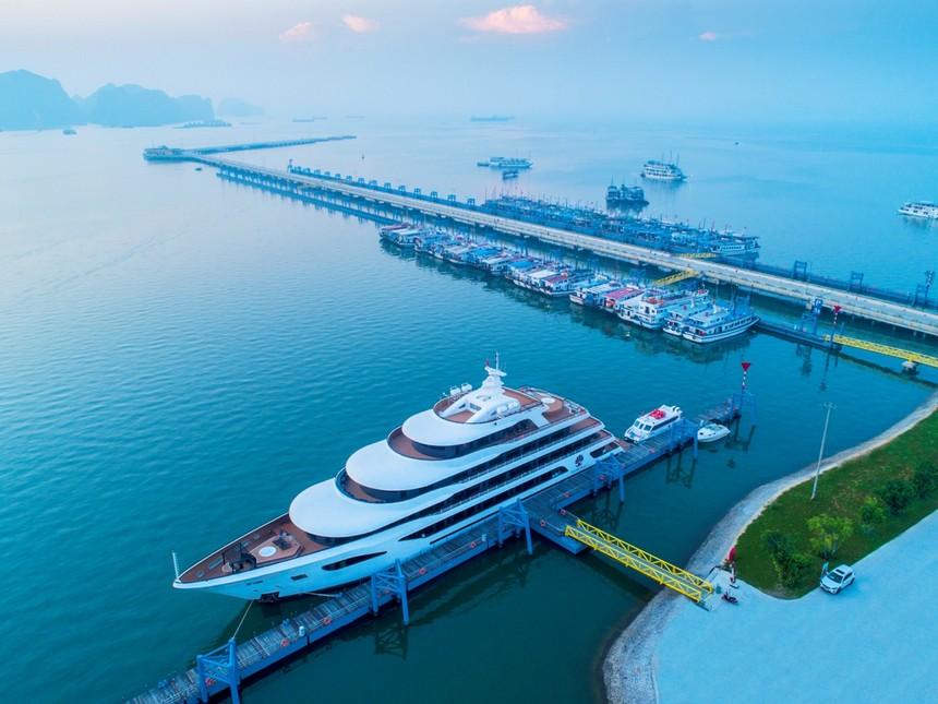 Cảng tàu quốc tế Hạ Long - Biểu tượng mới của du lịch.