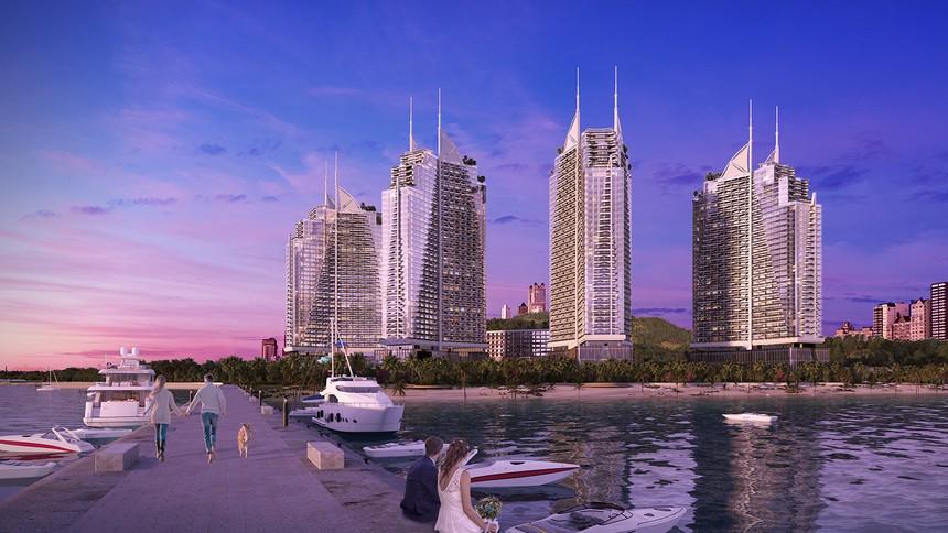 Crystal Bay khởi tạo các dự án bất động sản du lịch All – in - one với những tiện ích mới lạ.