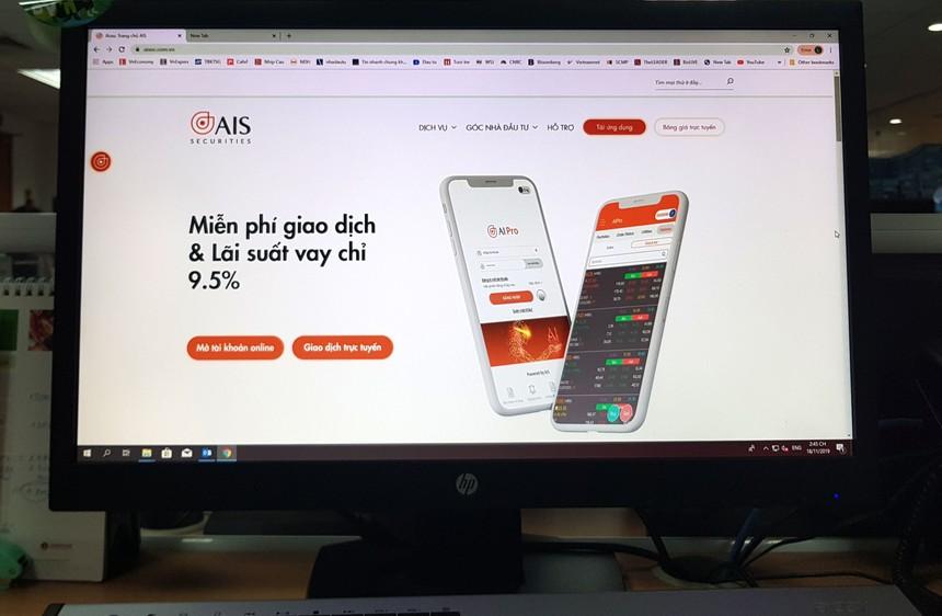 Hưởng mức vay margin VIP khi mở tài khoản chứng khoán tại AIS