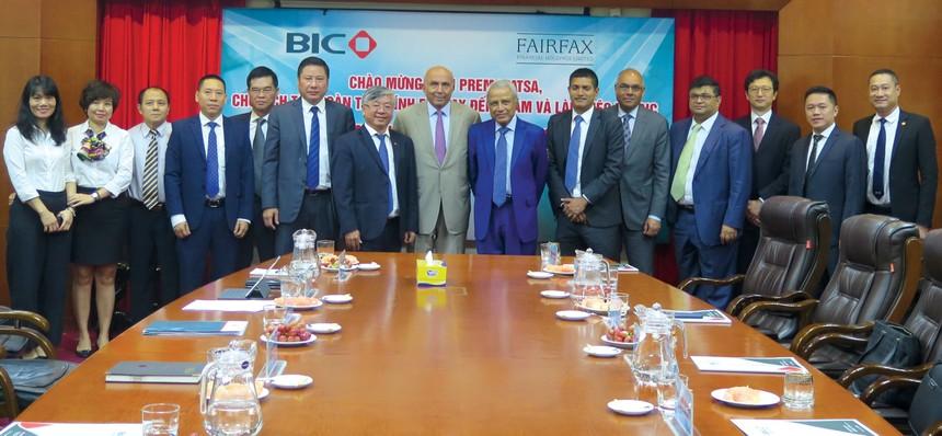 FairFax và BIC sẽ đẩy mạnh hợp tác trong 4 lĩnh vực