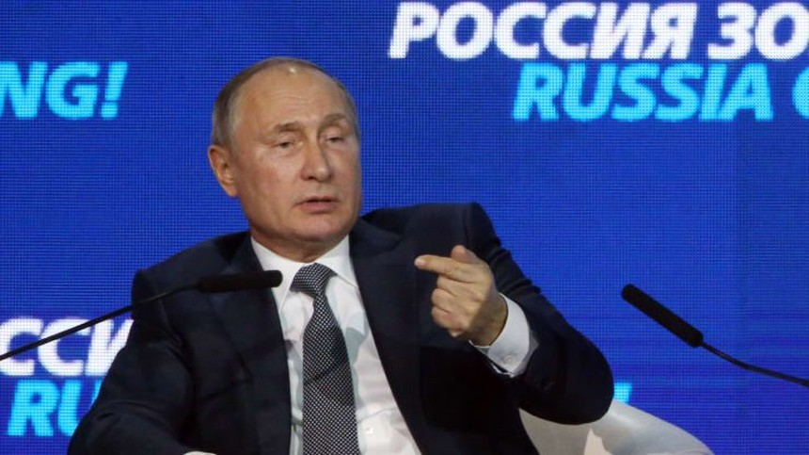 Tổng thống Nga Vladimir Putin. (Ảnh: Getty)