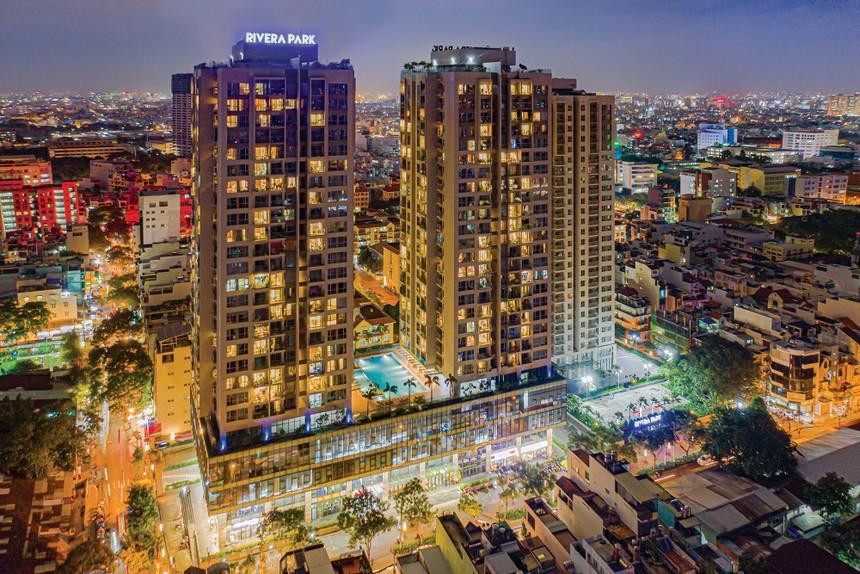 Tòa nhà Rivera Park Sài Gòn.