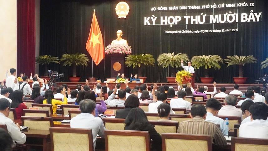 Tại kỳ họp 17, đại biểu thống nhất miễn nhiệm chức danh Trưởng ban Pháp chế đối với ông Trương Lâm Danh và miễn nhiệm chức danh Trưởng ban Văn hóa - Xã hội đối với bà Thi Thị Tuyết Nhung.